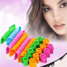 Automatic Hair Curlers Rollers Magic Hair Styling Tools Thread Form Big Waves Snail Curls Curly Hair Artifact