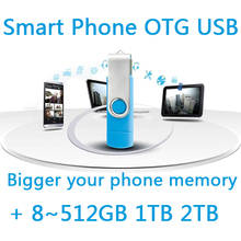 Cle Usb Flash Drive 64g 8gb 16gb 32gb Smart Phone Mobile Double Port Otg Dual Pen Driver Pendrive Memory Stick Otg Usb Stick 1TB
