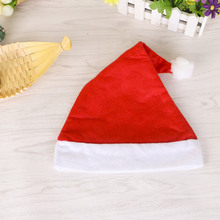 Cute New Year Xmas Official Plush Santa Claus Hat Comfort Liner Christmas Halloween festival Costume