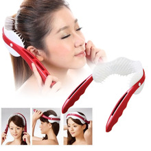 1Pc Magic Head Hair Scalp Massage Comb Tangle Soft Hair Combs Massage Comb Heath Care Relaxation Massage Tool Y1-5
