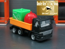 5cm length 1 64 scale diecast trucks, metal miniature toy cars with free wheel function for kids as gift