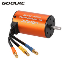 GoolRC Hot Sale Brushless Motor Waterproof 3660 3800KV 60A ESC Combo Set for 1/10 RC Car Truck Motors Accessory Part Wholesale(China)