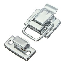 MTGATHER Stainless Steel Chrome Toggle Latch For Chest Box Case Suitcase Tool Clasp 43mm H144 Simply Lift The Pull Arm To Open