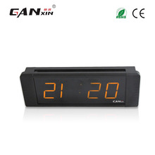 "[Ganxin]1"" High Quality Customized Factory Supply Led Digital Wall Clock Date Clock Function"