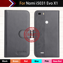 "Factory Direct! Nomi i5031 Evo X1 5"" Case 6 Colors Dedicated Ultra-thin Leather Exclusive Special Phone Cover Cases+Tracking"