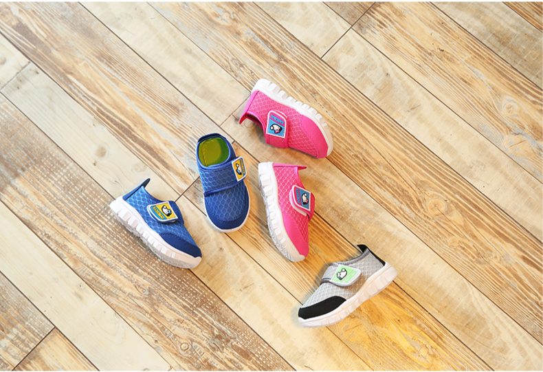 17 Autumn Kids Shoes Boys Girls Sports Shoes Breathable Mesh Children Casual Shoes Sneakers Soft Sole Toddler Baby Shoes 9