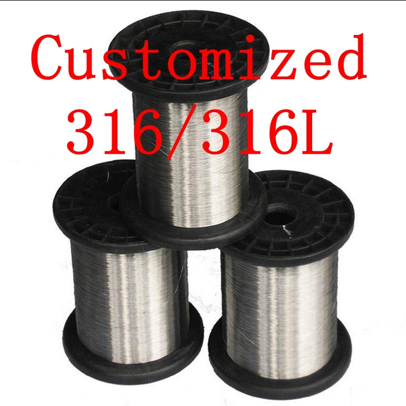 customized,316/316L Soft Stainless Steel  Wire,Customized SS Seaworthy Thread<br><br>Aliexpress