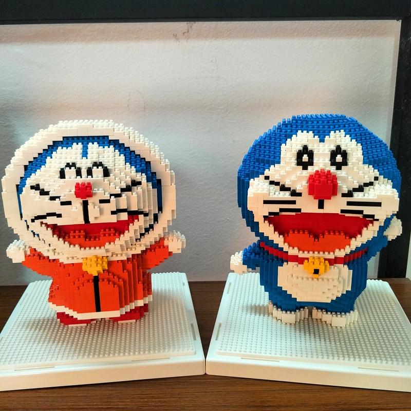 1665-1681Pcs Nanoblock DY Mini Blocks Japanese Anime Cartoon Cute Micro Building Blocks Bricks Toys Gifts For Children <br>