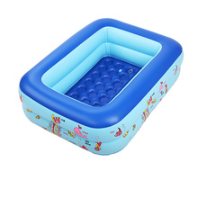 72L PVC Children Swimming Pool Bicyclo Inflatable Children Swimming Pool Kid's Playing Fishing Swimming Pool