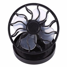 Free Shipping Summer Outdoor Mini Solar Fans Hot Hat Mini Clip Solar Powered Fan  For Outdoor Camping Sport Fishing Wholesale