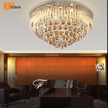new beautiful modern crystal lights ceiling lamp fixtures lustres decorative home lighting