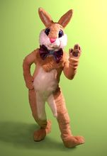 professional mascot walk around Easter bunny costume for Mall or church for party free shipping to worldwide
