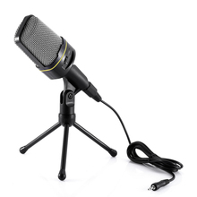 Professional Yanmai Unidirectional Sound Microphone with Stand Holder for PC Laptop MSN Skype Support Singing and Chatting