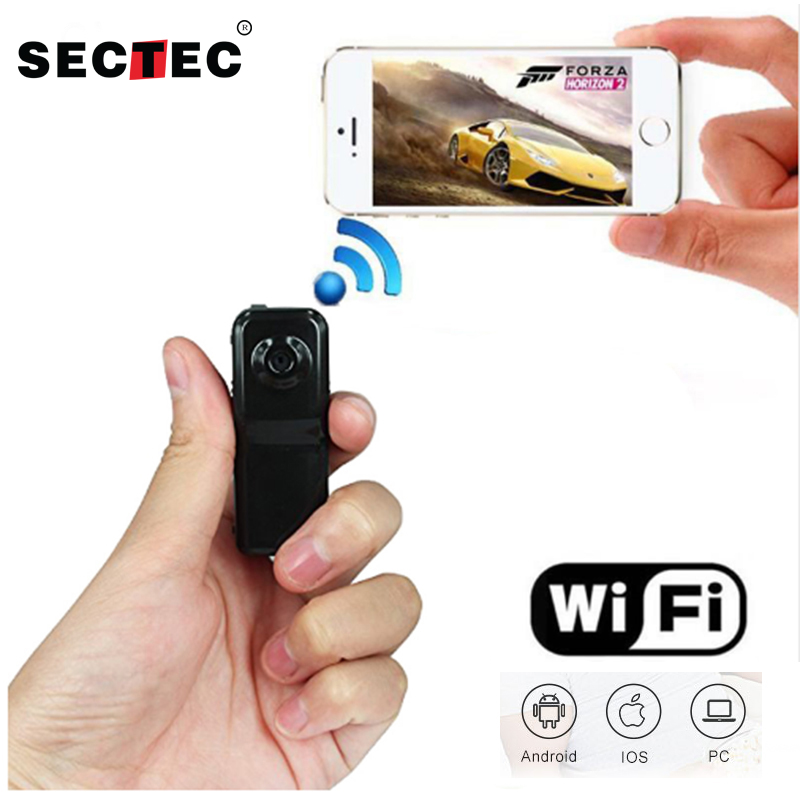 INQMEGA Mini Wifi IP Camera Security Wireless Camera Micro Candid Small Camcorder Support Plug and Play<br>