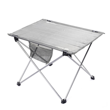 1pc Outdoor Folding Table Ultra-light Aluminum Alloy Structure Portable Camping Table Furniture Foldable Picnic Table