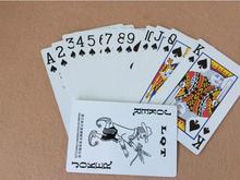5pcs/lot Lovely Poker Interesting Playing Cards Game Outside Outdoor Creative Travel Entertainment Poker(China)