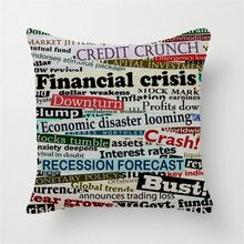 British style text pattern  cushions home deco  sofa covers vintage throw pillows hips  decoration