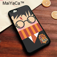 Buy MaiYaCa Harry Potter Griffindor Soft TPU Skin Apple iPhone 7 Cover Coque Case Apple 7 Printed Cover iPhone7 Case for $4.36 in AliExpress store