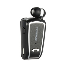 Fineblue F-V3 Wireless Bluetooth Stereo Headset Bluetooth Headset 4.0 In-ear with Mic Retracted Earphone with Clip for iPhone