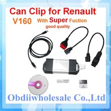 DHL Free for Renault Clip Newest v165 version for Renault multi languages auto diagnostic interface Renault Can Clip ON SALE