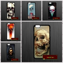 Cute Halloween Colorful Skull Phone Cases Cover For iPhone 4 4S 5 5S 5C SE 6 6S 7 Plus 4.7 5.5  AM0815