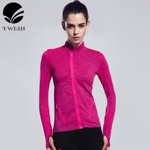 Women Yoga Gym Compression Tights Sport T Shirt Fitness Women Quick Dry Running Tops Long Sleeve T-shirts Body Shaper Tee Shirts(China)