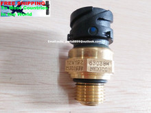 NEW Genuine fuel pressure sensor 21540602 20898038 head oil switch sensor case for VOLVO truck diesel engine 21302639