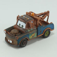 Pixar Cars Tow Mater Diecast Metal Toy Car For Children Gift 1:55 Loose New In Stock(China)