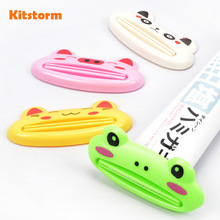 Multifunctional Toothpaste Clip Squeezer Creative Cute Cartoon Animal Design(China)