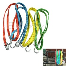 Buy 1Pc Bicycle Luggage Rope Strap Tie Fixed Band Banding Bungee Elastic Rope 120cm Useful for $1.28 in AliExpress store
