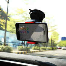 Universal Car Holder For iPhone 8 7 6 Plus Car Phone Holder Window Stand 360 Degree Rotating Flexible Navigating Socket GPS Dock