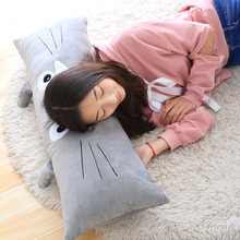 1pcs Japan Totoro comfortable soft plush toy pillow  cute sleep pillow toys.Kawaii pillow.free shipping!