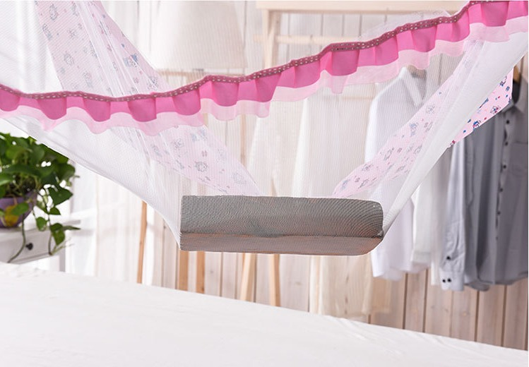 Portable Baby Kids Toddler Bedding Crib Canopy playTent for Kids Playing Reading Games House