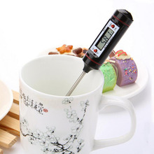 1Pc Metal Home Electronic Digital Hygrometers Needle Measure Bread Milk Temperature Thermometer for Kitchen Baking Pastry Tools