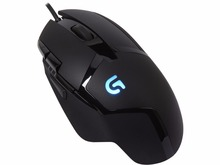 Logitech G402 Hyperion Fury FPS Computer Gaming Mouse 4000DPI High Speed Fusion Engine Ergonomic Game Mouse For PC laptop gamer(China)
