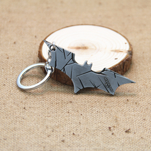 "2017 Hot Sale New Arrival Cool Super Hero ""The Bat Man"" Movie Theme Metal Batman Keychain Alloy Pendant Key Chain Key Accesssory"