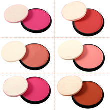 Face Blush Makeup Cheek Blusher Palette Colorete Cosmetic Shadows Powder Blush Beauty Maquiagem Pulve Make Up Contour Blusher