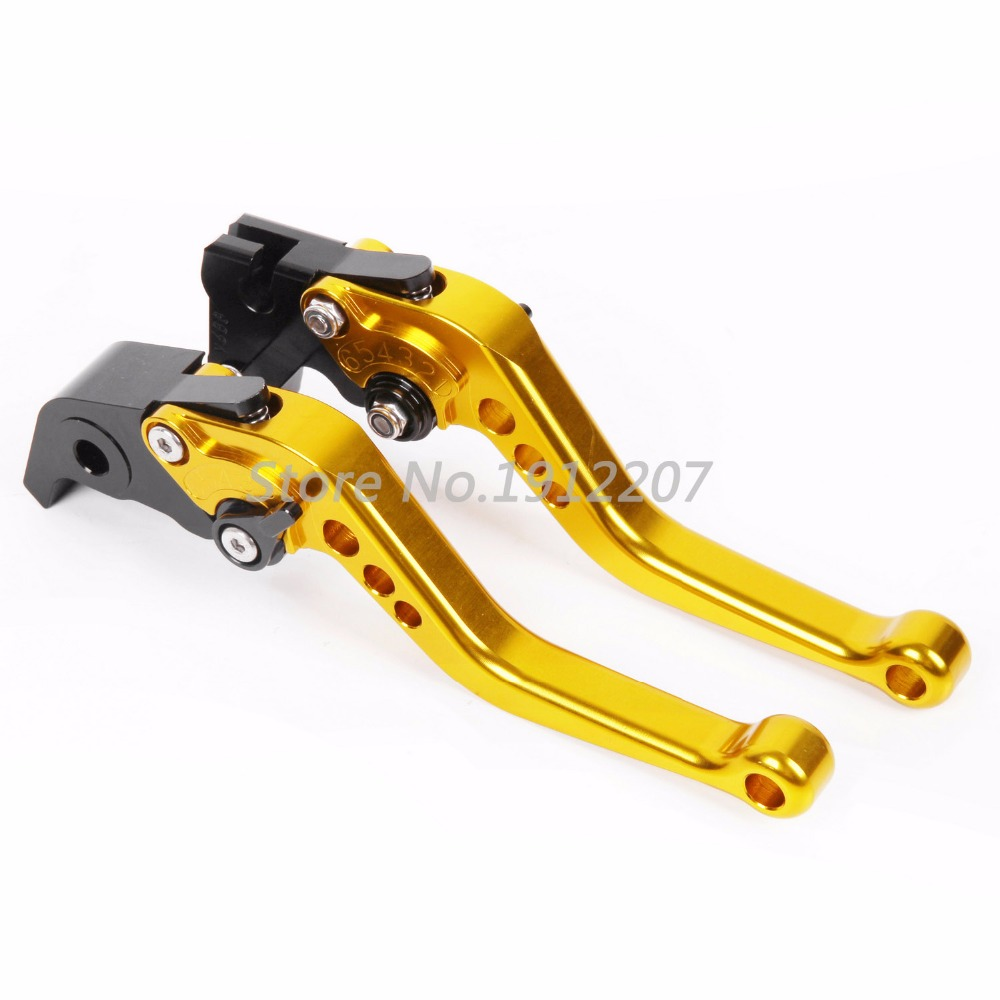 For YAMAHA XT660X SuperMotard 2004-2008 Shorty Type Aluminum CNC Shorty Levers Brake Clutch Levers Fully 6 Positions Adjustable<br><br>Aliexpress