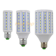 Lampada Led lamp E27 E14 B22 110~130V/220V 12W 15W 30W Epistar smd 5730 Solsr Corn Light Bulb Led Bulbs&Tubes Lumen 1200~3000LM(China)
