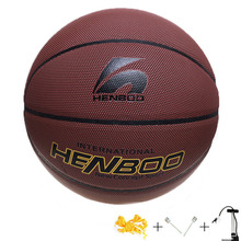 2017  Basketball Ball Basketball Training Basketbal PU Size 7 Wear Non-slip Hygroscopic Sweat Outdoor Game Indoor Sports