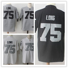 Mens 75 Howie Long Jersey 2017 Rush Salute to Service High Quality Football Jerseys(China)