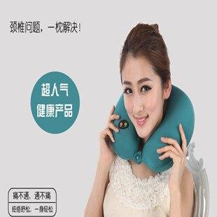 Gelanfu  u massage pillow vibration usb charge memory pillow cervical massage device. Free shipping.Gift<br>