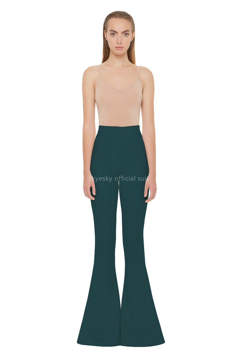 New Arrival Green Women Pant Suits And Sets For Women Thrstores