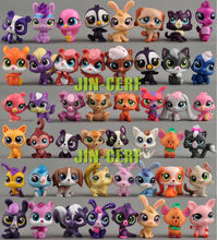 1.25 inch 10 Pcs lot Toy bag Little Lexrev Pet Shop Action Figures Toys Animal Cat Dog patrulla canina Action figure toy Gift