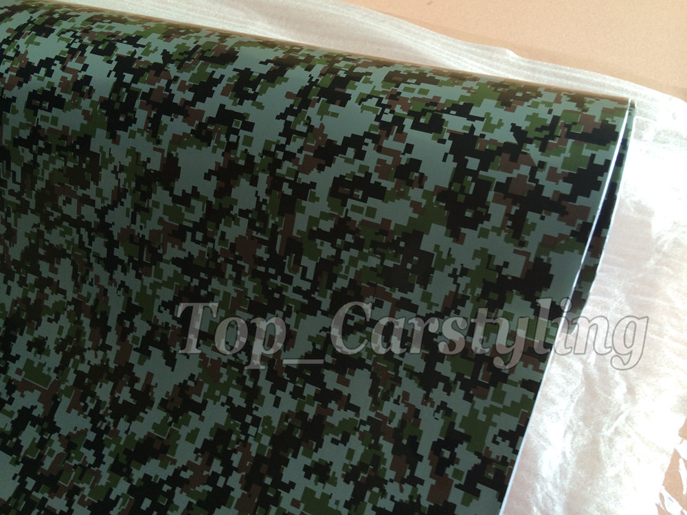 digital camouflage vinyl car wrapping film with air free (1)