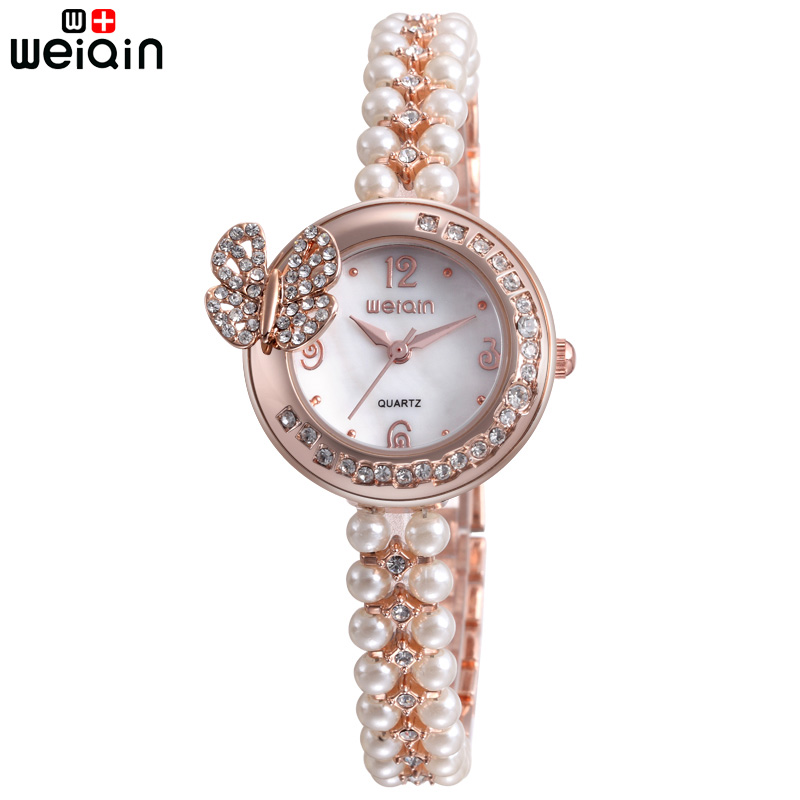 WEIQIN Original Luxury Bracelet Women Wristwatches Outdoor Vintage Crystal Diamond Ladies Watches Date Waterproof Reloj Mujer<br><br>Aliexpress