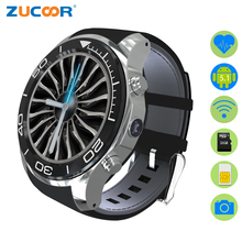 ZUCOOR Smart Watch Android Mobile Phone Watches Pulse Monitor S1 Wearable Devices Reloj GPS Touch Screen With SIM Card Camera
