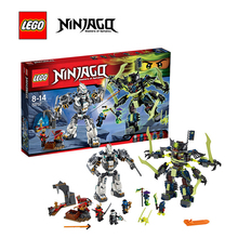 LEGO Ninjago Titan Mech Battle Architecture Building Blocks Model Kit Plate Educational Toys Children LEGC7037 - Tanlook Store store
