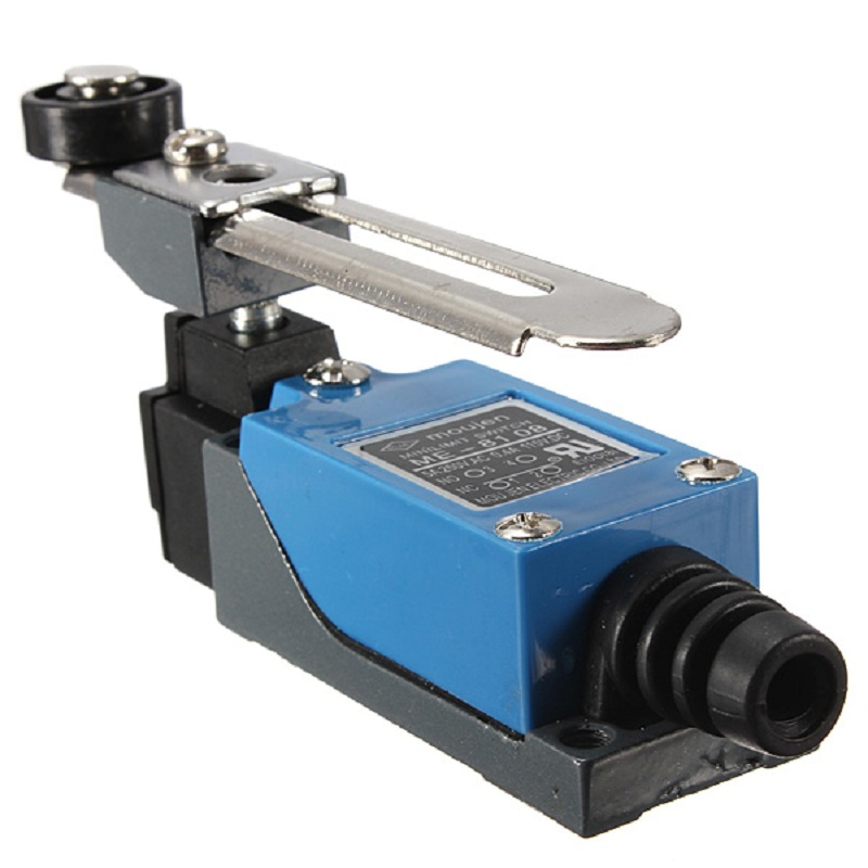 Waterproof ME-8108 Momentary 10A 380V AC Roller Arm Type Limit Switch For CNC Mill Laser Plasma<br><br>Aliexpress