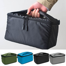 Besegad Portable Camera Insert Padded Bag Case Pouch Holder Shockproof with Dividing Partition for DSLR Sony Canon Nikon Pentax(China)